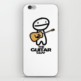 The Guitar Guy iPhone Skin