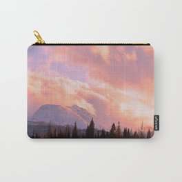 Rose Quartz Turbulence Carry-All Pouch