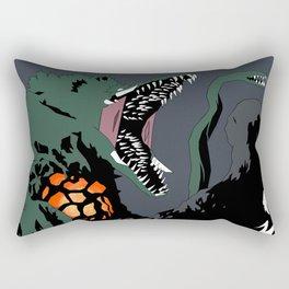 Godzilla vs. Biollante Rectangular Pillow