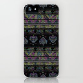 Persian Carpet  Distressed 1 iPhone Case