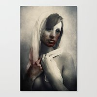 there will be blood Canvas Prints featuring Blood by Digital Asylum (Josh Winton)