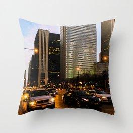 Downtown Chicago 2016 Throw Pillow
