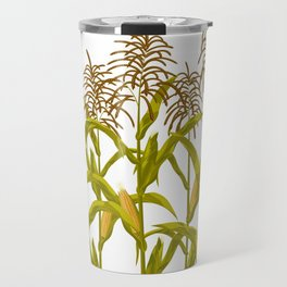 Corn maize pattern Travel Mug
