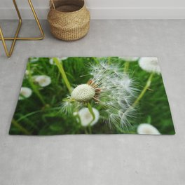 Dandelions - Nature Photography Rug