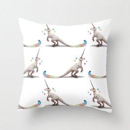 Uniraptor by Serena Art Throw Pillow