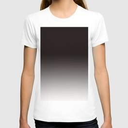 Monochromatic Background, Faded Black to Grey T-shirt