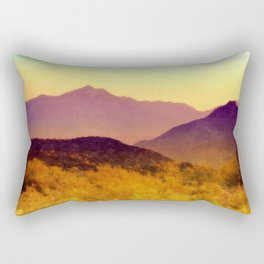 Painted Desert Rectangular Pillow