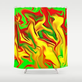 Ghost 8 Shower Curtain
