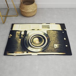 The heart and mind are the true lens of the camera Rug