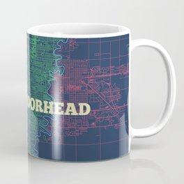 Fargo-Moorhead Street Map Coffee Mug