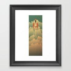 The Destination Framed Art Print