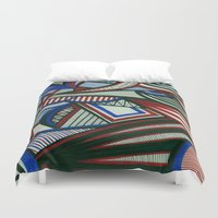 3d Duvet Covers featuring 3D by Jess D'Angelo