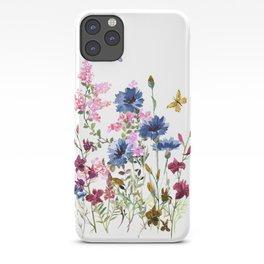 Wildflowers IV iPhone Case