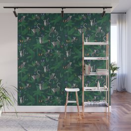 Lemurs in the Forest Wall Mural