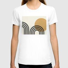 Mid century modern - Sun & Hills T-shirt