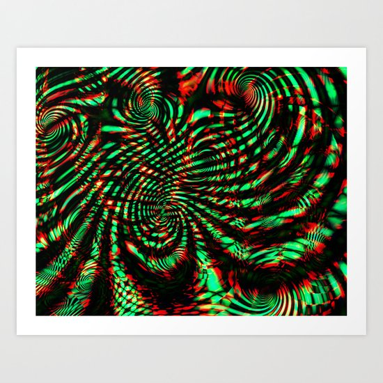 Blind Trip A Art Print