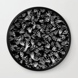 Appetite Of The Living Dead Wall Clock
