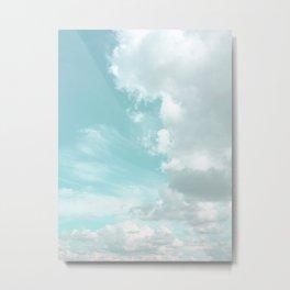 Head in the clouds #buyart #decor #freshair Metal Print