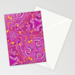 Paisley (pink) Stationery Cards