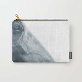 Horse head - fine art print n° 2, nature love, animal lovers, wall decoration, interior design, home Carry-All Pouch
