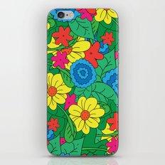 Vector Flowers iPhone & iPod Skin