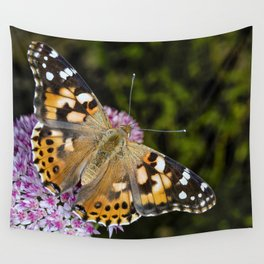 Painted Lady Butterfly 0923 Wall Tapestry