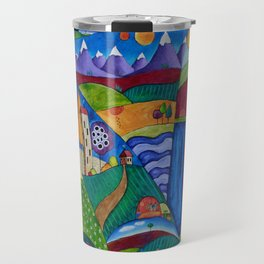 Interdimensional Balloon Race Travel Mug