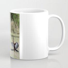 Drying off Coffee Mug