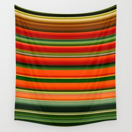 Lobster-Claw Plant II Wall Tapestry