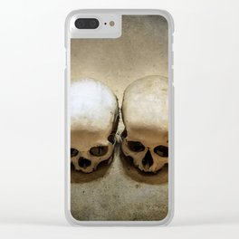 Four Victims Clear iPhone Case