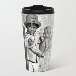 GIRL WITH DOLL - VIETNAM Travel Mug