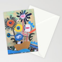 Boat Flowers Stationery Cards