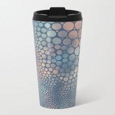 Dream Circles Charcoal Metal Travel Mug