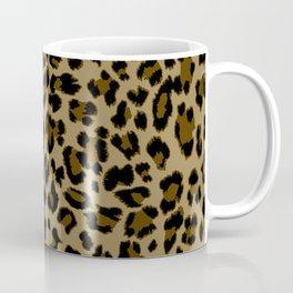 Leopard Print Pattern Coffee Mug