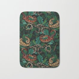 Dangers in the forest Bath Mat