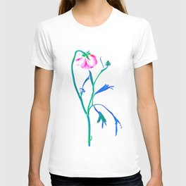 One Flower - Study 3. Back T-shirt