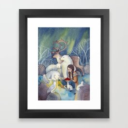 A Tale of the North Framed Art Print
