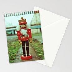 Urban rail nutcracker Stationery Cards