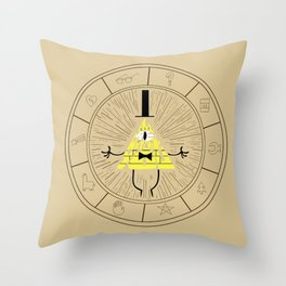 Bill Cipher summoning Throw Pillow