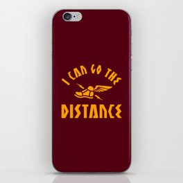 I Can Go The Distance iPhone Skin