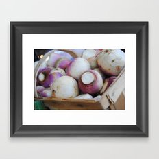 turnips? Framed Art Print
