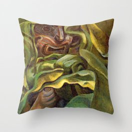 Strangled by Growth by Emily Carr Throw Pillow