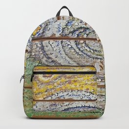 Waves on Grain Backpack