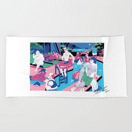 Transmascs in Paradise Beach Towel