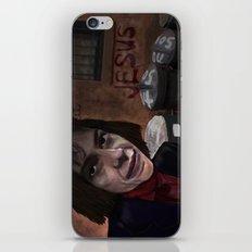 Busker Jesus iPhone & iPod Skin