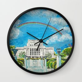 Laie Hawaii LDS Temple Wall Clock