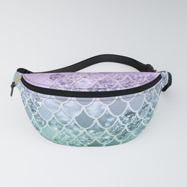 Mermaid Glitter Scales #1 #shiny #decor #art #society6 Fanny Pack