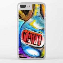 Mateu Clear iPhone Case
