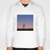 running Hoodies featuring Running by Tanja Riedel