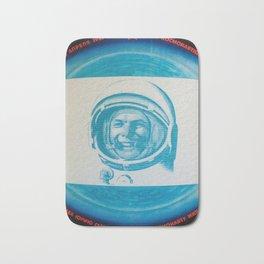 Russian Cosmonaut Poster Bath Mat